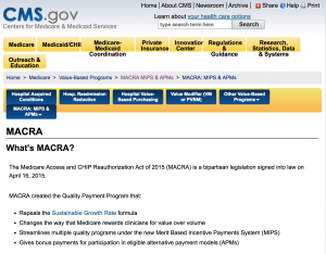 MACRA & Telehealth Reimbursement
