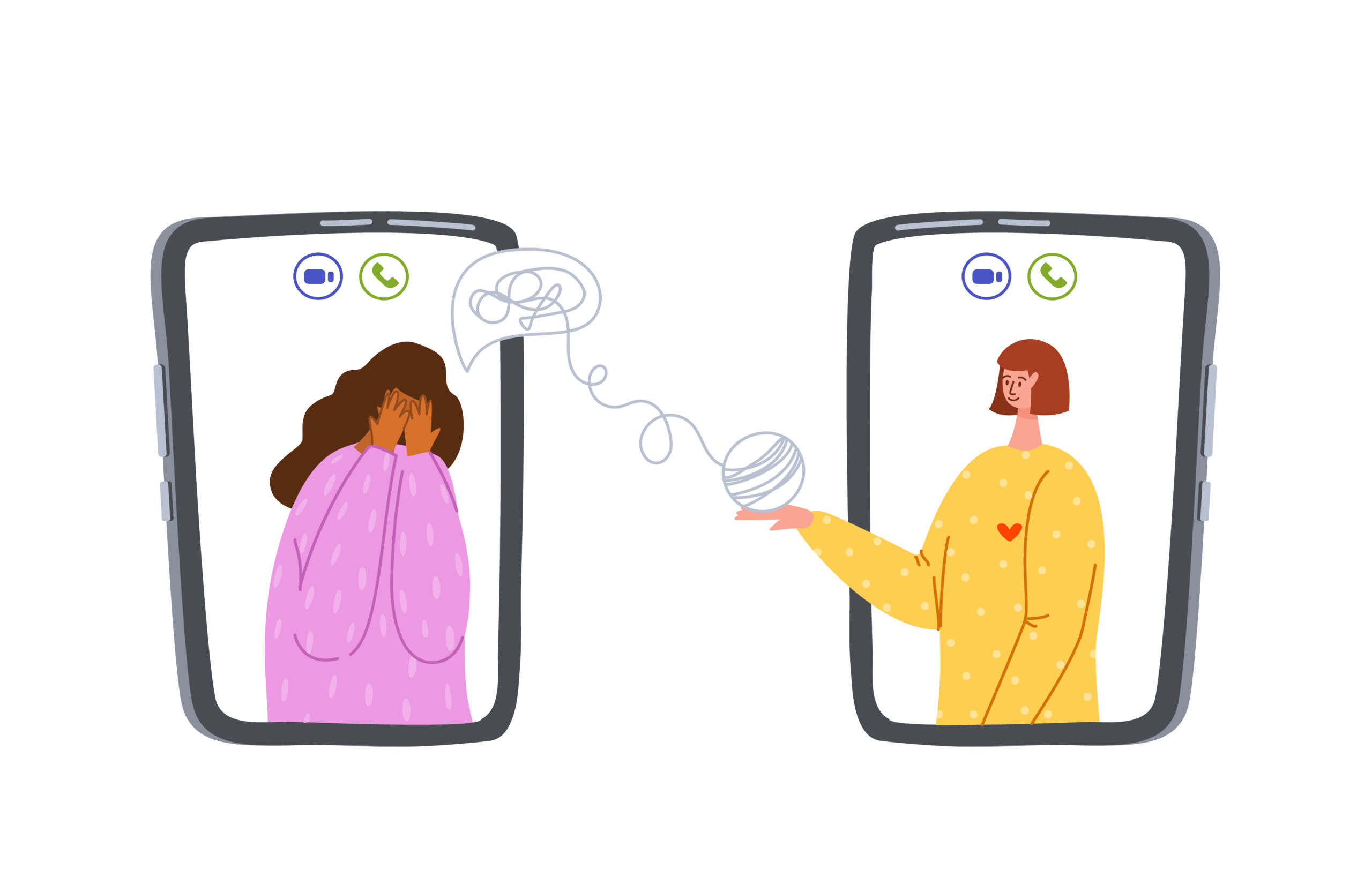 Over the phone therapy, Telephone telehealth