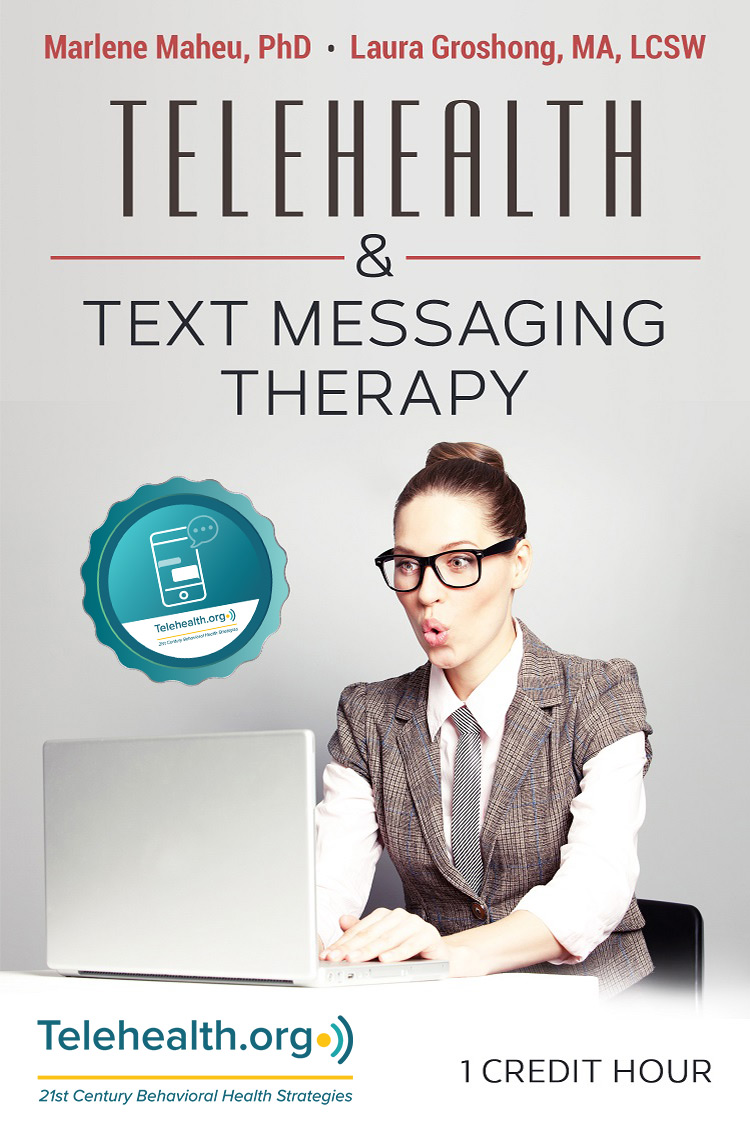 telehealth text messaging therapy